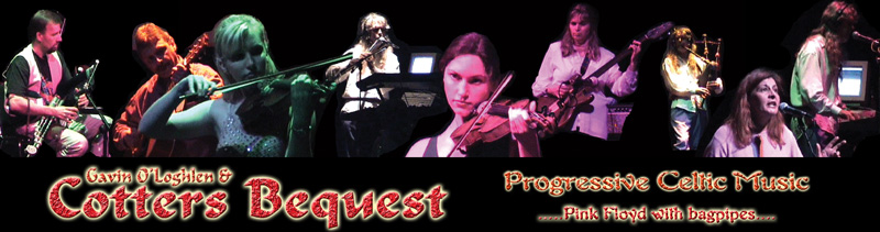 Cotters Bequest Progressive Celtic Music